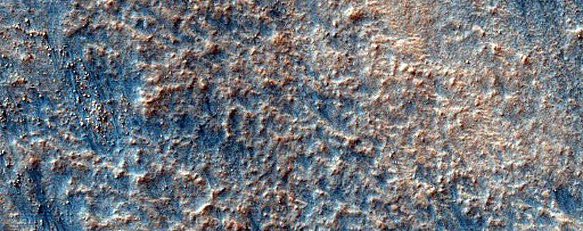 Dunes in Hellas Planitia