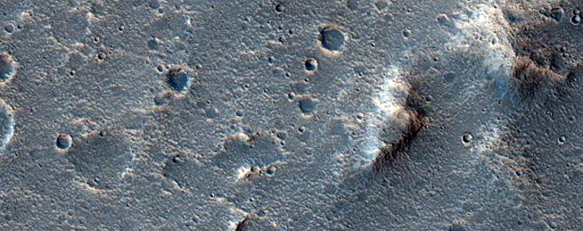 Smooth Crater Floor