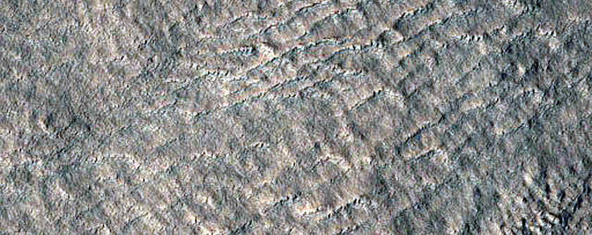 Graben East of Arcadia Planitia