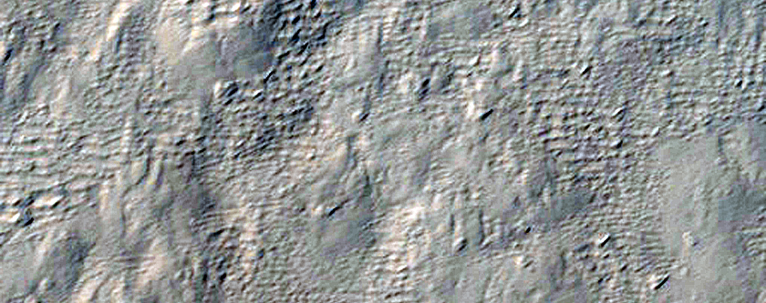 Portion of Lobe Off North Side of Pavonis Mons