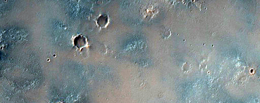 Southeast Sinus Meridiani Terrain with Subdued Craters