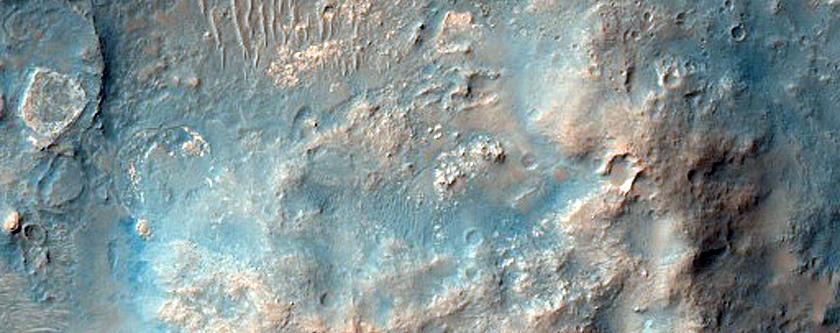 Spirit Landing Site at Gusev Crater