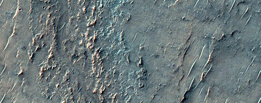 Channel in Intercrater Plains