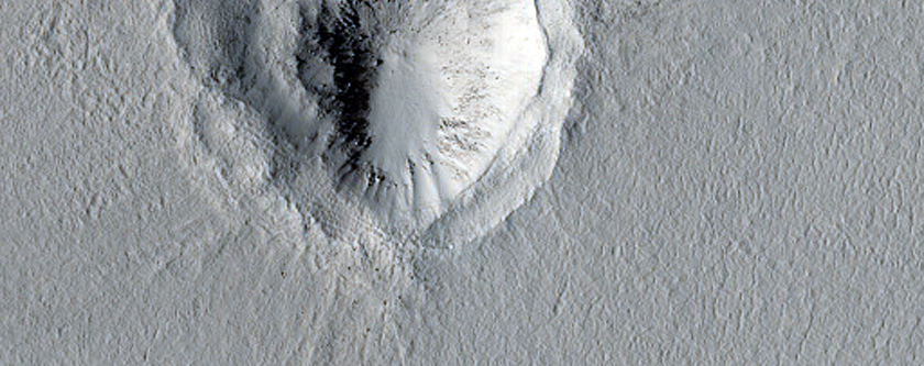 Terraced Crater