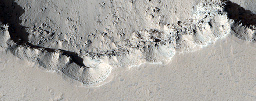 Boulders and Megaclasts in Elysium Fossae Trough