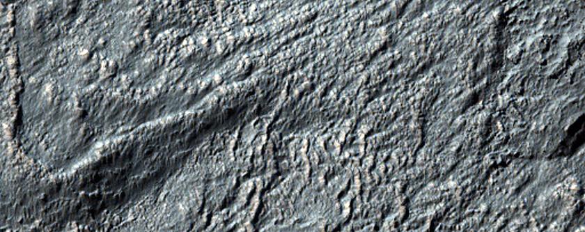 Flow Ridges in Noachis Terra