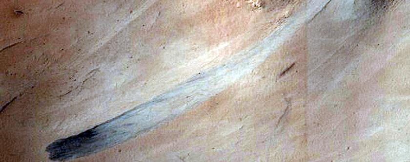 Streaks in Arabia Terra