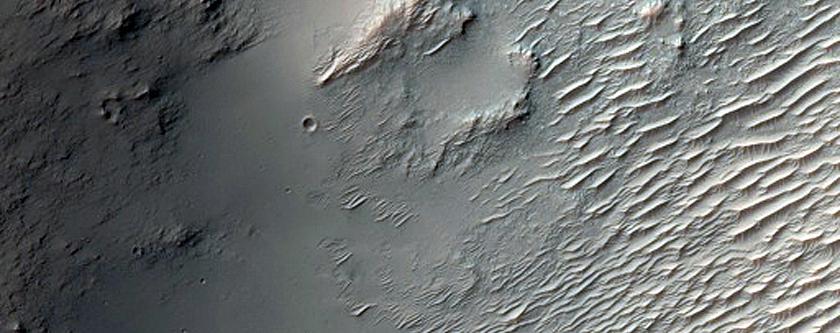 Mound in Terra Sabaea Bedrock Plain