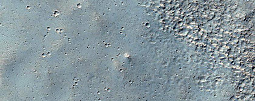 Degraded Volcanic Terrain