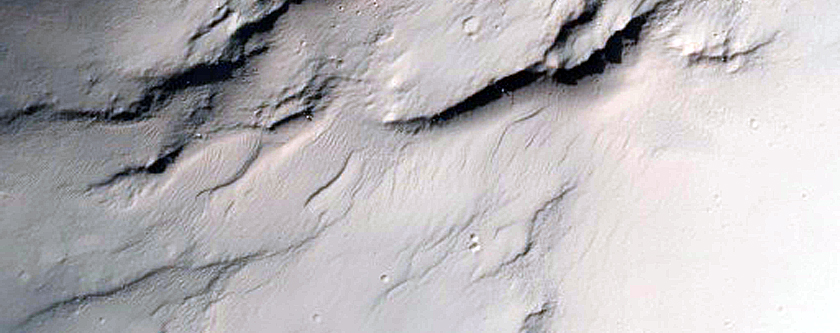 Crater Rim and Ejecta