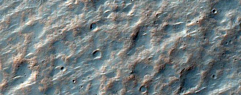Flank of Tyrrhenus Mons