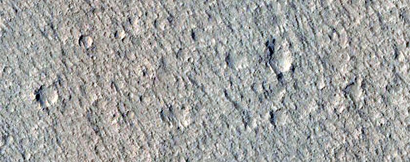 Western Amazonis Planitia Slope Streaks