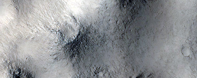 Terrain East of Peridier Crater