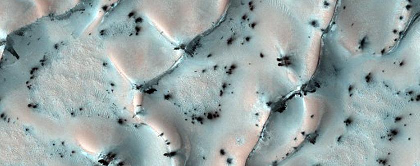 Translucent Ice Cover in North Polar Region