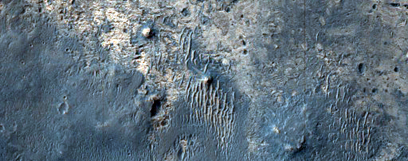 Multiple Geomorphic and Geologic Units in Southern Meridiani Planum