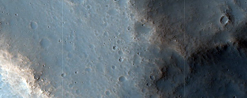 Crater and Streamlined Margin