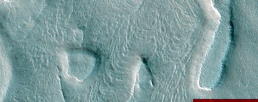 Active North Polar Layered Deposits Scarp Avalanche Monitoring