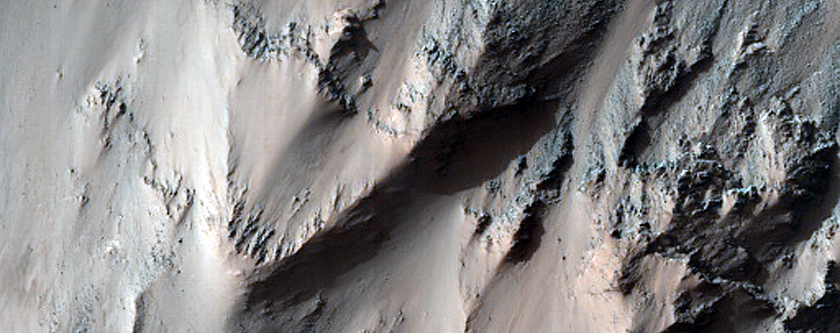 Crater with Columnar Jointing