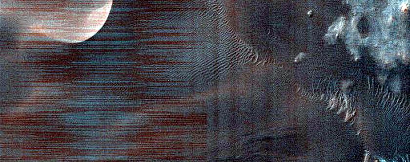 Matara Crater Dune Gully Monitoring