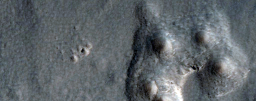 Northern Plains Crater Modification
