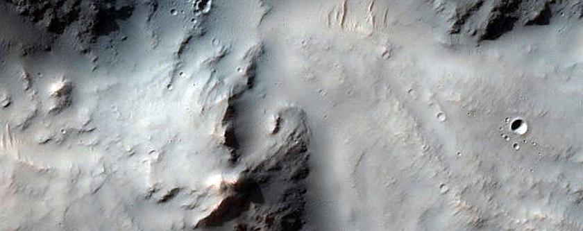 Impact Related Flows in Margaritifer Terra