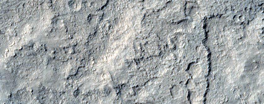 Nicholson Crater Floor