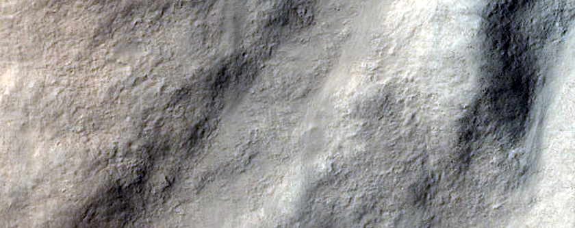 Characterizing Impact Related Flow Features in Amenthes Planum