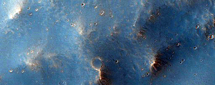 Ottumwa Crater Ejecta Rays