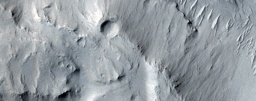 Layers and Inverted Terrain
