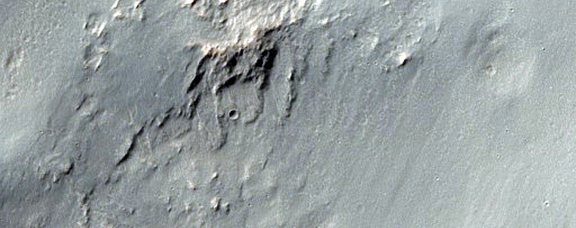 Impact Related Flows and Deposits Outside Noord Crater