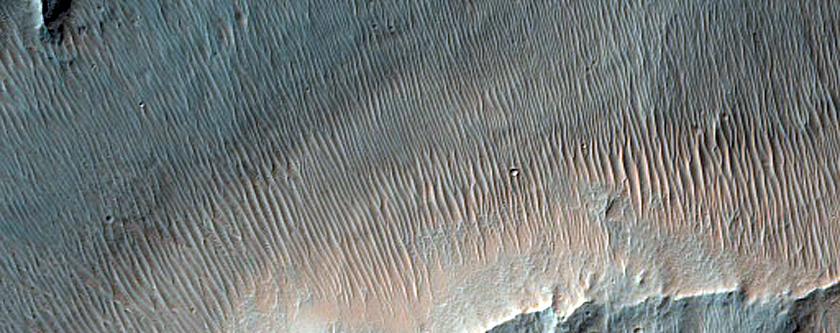 Channel near Nirgal Vallis