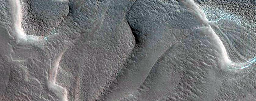 North Polar Layered Deposits Avalanche Monitoring Scarp Site
