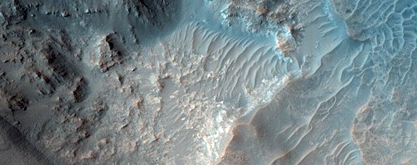Monitor Slopes in Acidalia Planitia