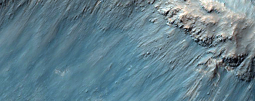Monitor Slope in East Candor Chasma
