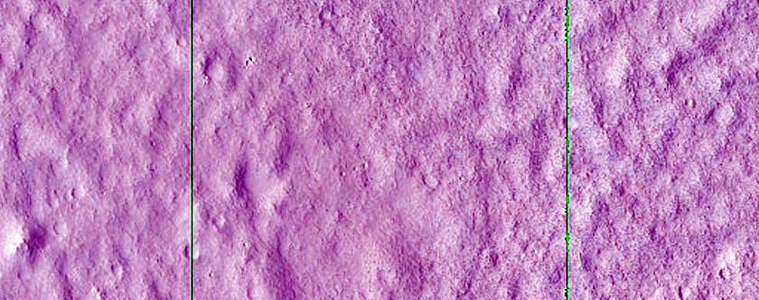 Landform in Utopia Planitia