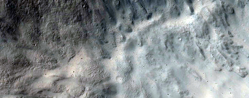 Impact Related Flows and Deposits in Amenthes Planum