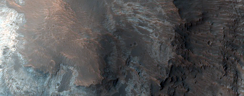 Butte Northwest of Oxia Planum
