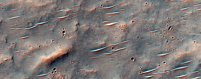 Valley in Crater