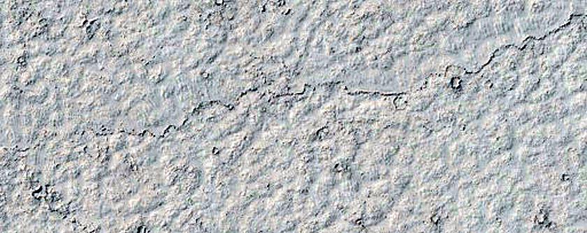 Platy-Ridged Lava in Elysium Planitia