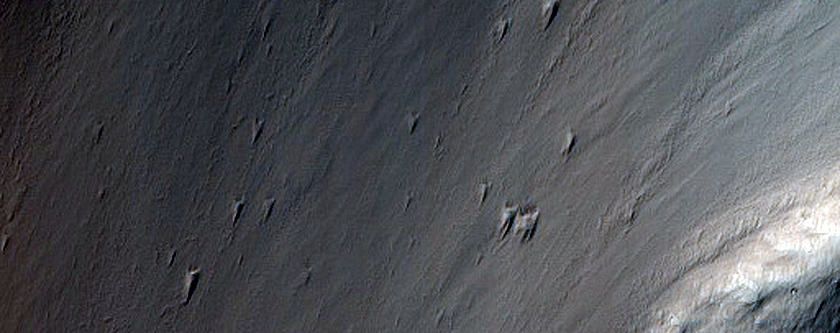 Candidate Recent Impact Site near Ophir Chasma