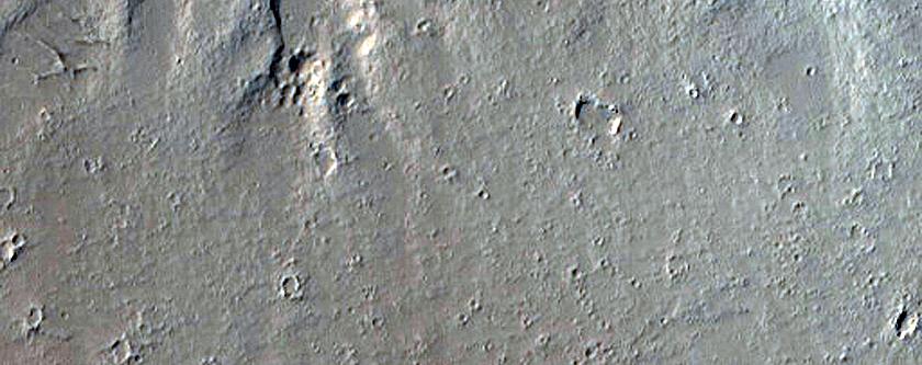 Fissure Vent in Gordii Fossae