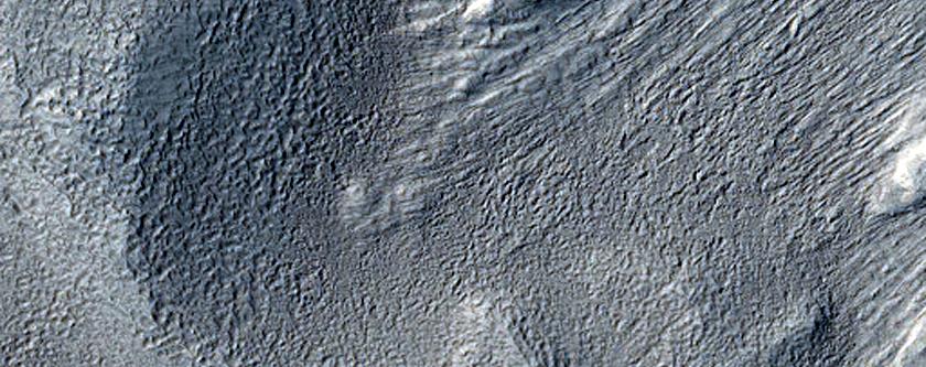 Dipping Layers in Arabia Terra