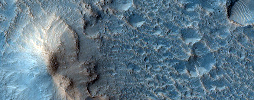 Mound in Chryse Planitia