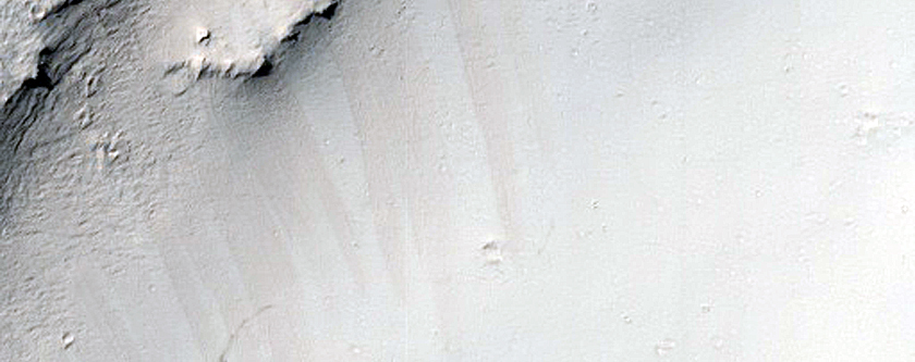 Layers in Crater