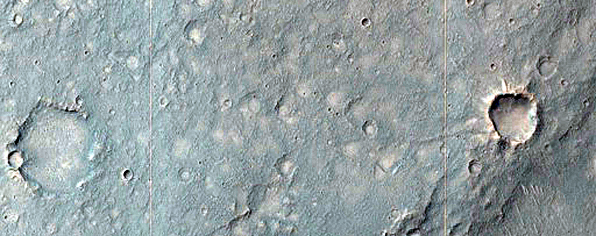 Overspill Region on Margin of Orson Welles Crater