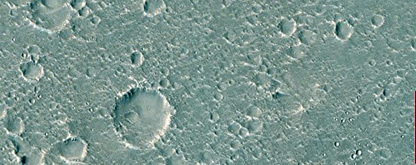 Features in Hebrus Valles