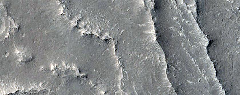 Inverted Channel in Arabia Terra
