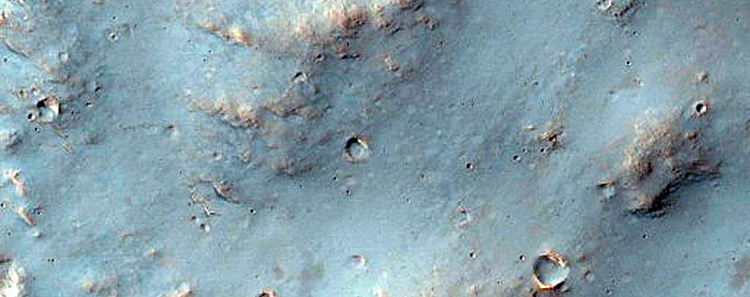 Chlorite-Rich Crater Ejecta in Tyrrhena Terra