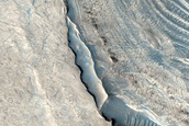 Exposed Layering within Meridiani Planum Crater