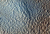 Candidate New Impact near Arsia Mons in Tharsis Region
